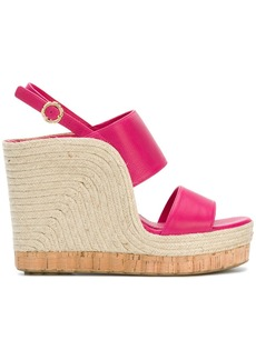 Salvatore Ferragamo high wedge sandals - Pink & Purple