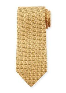Ferragamo Horses Silk Tie