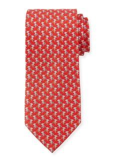 Ferragamo Hula Hooping Silk Tie