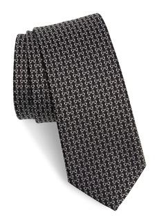 Salvatore Ferragamo Ibiza Print Silk Tie