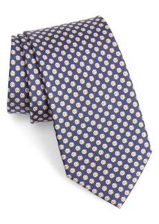 Salvatore Ferragamo Ibra Soccer Print Silk Tie