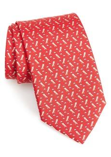 Salvatore Ferragamo Impero Print Silk Tie