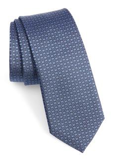 Salvatore Ferragamo Ischi Geometric Silk Tie