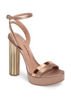Salvatore Ferragamo Ankle Strap Platform Sandal (Women)
