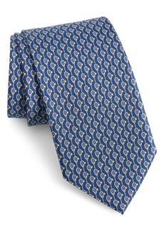 Salvatore Ferragamo Ivo Print Silk Tie