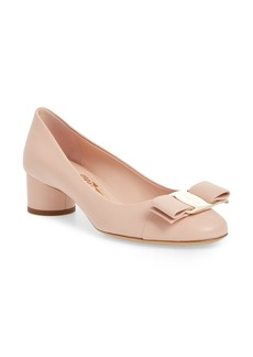 Salvatore Ferragamo Ivrea Bow Pump (Women)