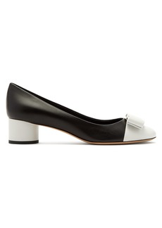 Salvatore Ferragamo Ivrea leather pumps