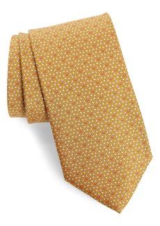 Salvatore Ferragamo Ixia Musical Note Silk Tie
