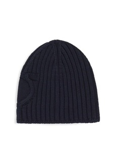 Ferragamo Knit Ribbed Hat