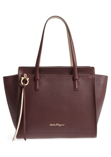 Salvatore Ferragamo Large Leather Tote