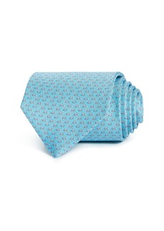 Salvatore Ferragamo Lavinia Silk Classic Tie