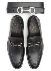 Salvatore Ferragamo Belt & Loafer