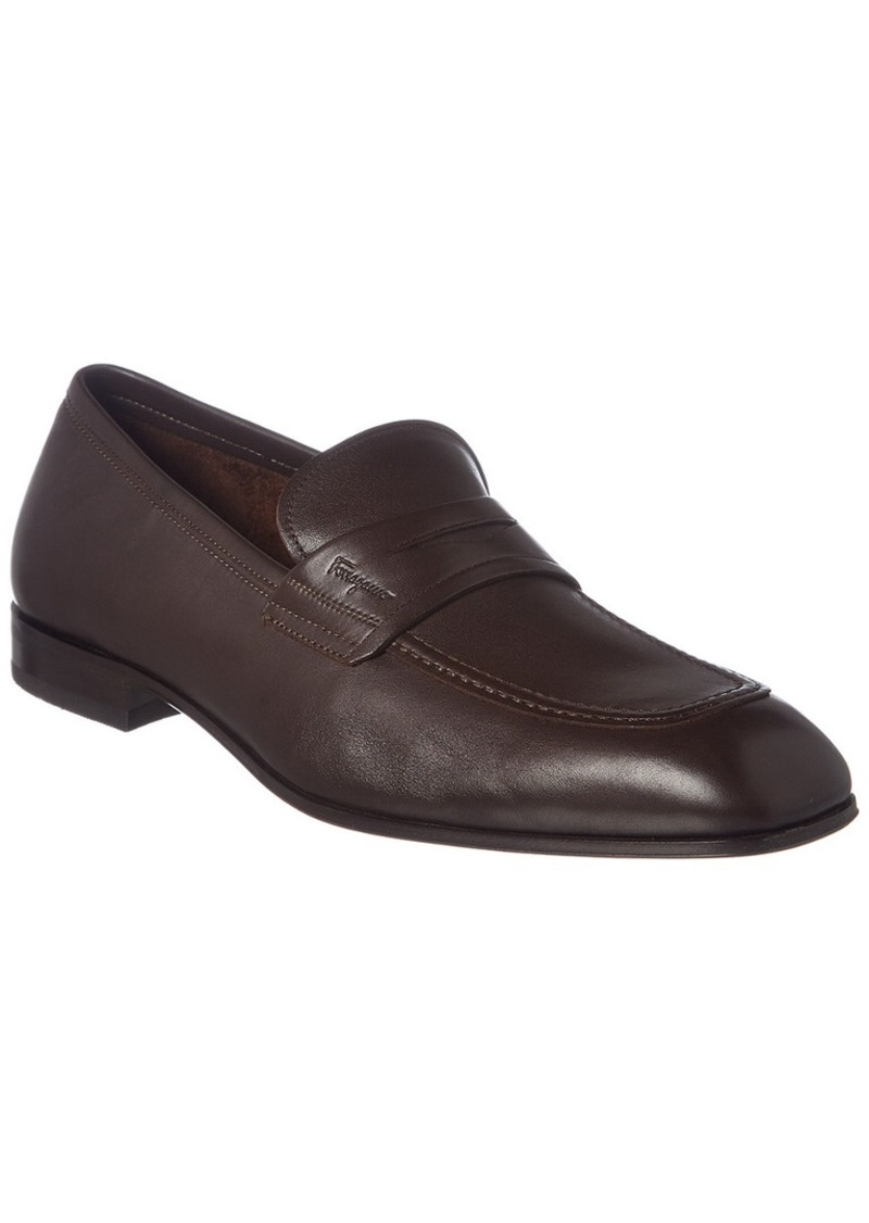 Salvatore Ferragamo Leather Loafer