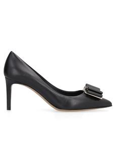 Salvatore Ferragamo Leather Pointy-toe Pumps