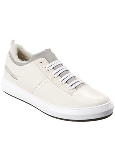 Salvatore Ferragamo Leather Sneaker`