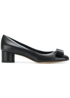 Salvatore Ferragamo leather Vara bow pumps - Black