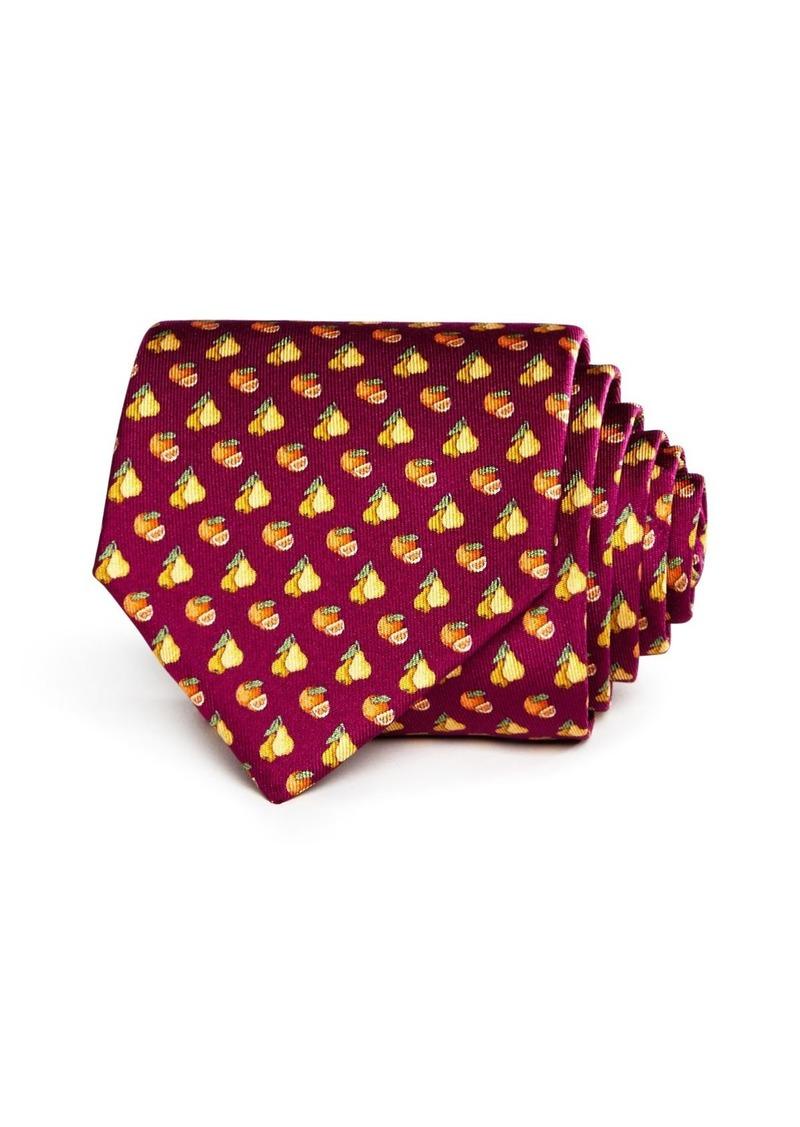 Salvatore Ferragamo Lemons & Oranges Silk Classic Tie - 100% Exclusive