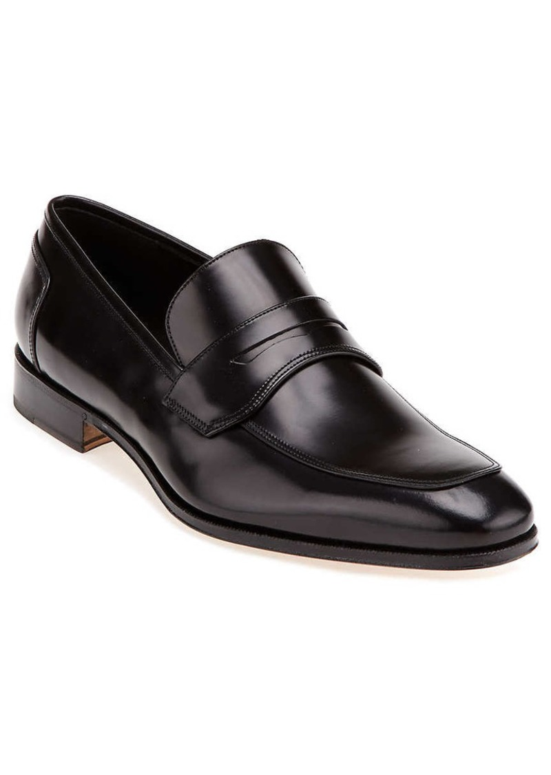 Salvatore Ferragamo Lionel Leather Loafer
