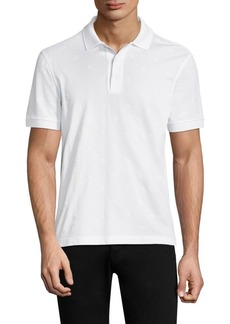 Ferragamo Logo Cotton Polo