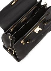 f05ddfef4ae2 Salvatore Ferragamo Lotty Medium Leather Satchel Bag Salvatore Ferragamo  Lotty Medium Leather Satchel Bag