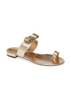 Salvatore Ferragamo Louisa Bow Toe Loop Sandal (Women)