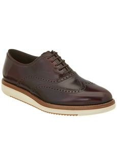 Salvatore Ferragamo Love Brogue Leather Oxford