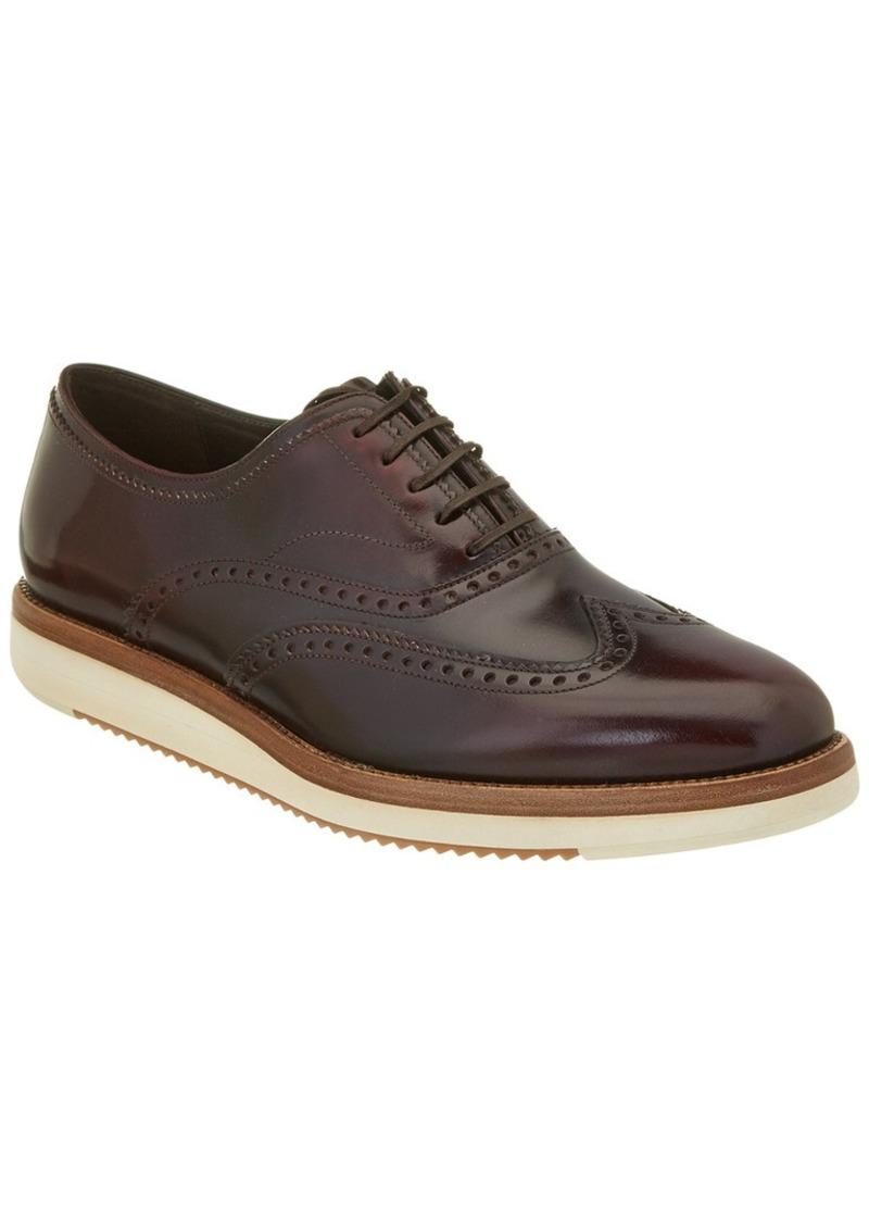 Salvatore Ferragamo Love Brogue Leather Oxford