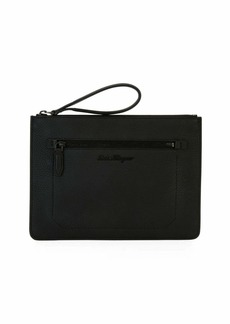 Ferragamo Men's Medium Leather Portfolio Case