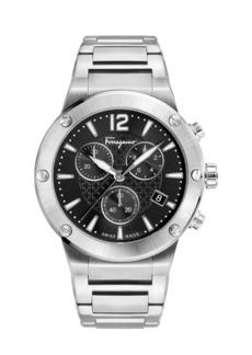 Ferragamo Men's 44mm F-80 Bracelet Watch