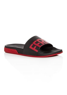 Salvatore Ferragamo Men's Amos Slide Sandals