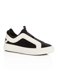 Salvatore Ferragamo Men's Answer Slip-On Sneakers
