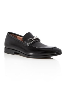 Salvatore Ferragamo Men's Benford Leather Apron Toe Loafers