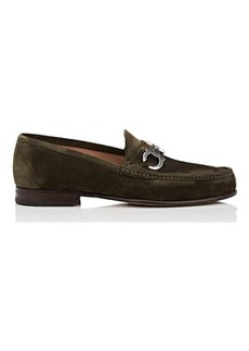 Salvatore Ferragamo Men's Bond Suede Loafers