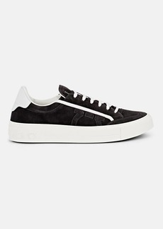 Salvatore Ferragamo Men's Borg 2 Suede Sneakers