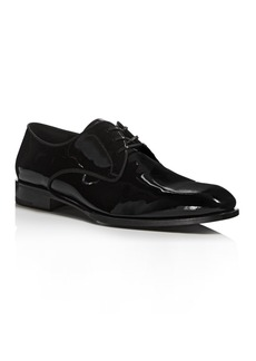 Salvatore Ferragamo Men's Charles Patent Leather Derbys