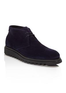 Salvatore Ferragamo Men's Charlie Leather Chukka Boots