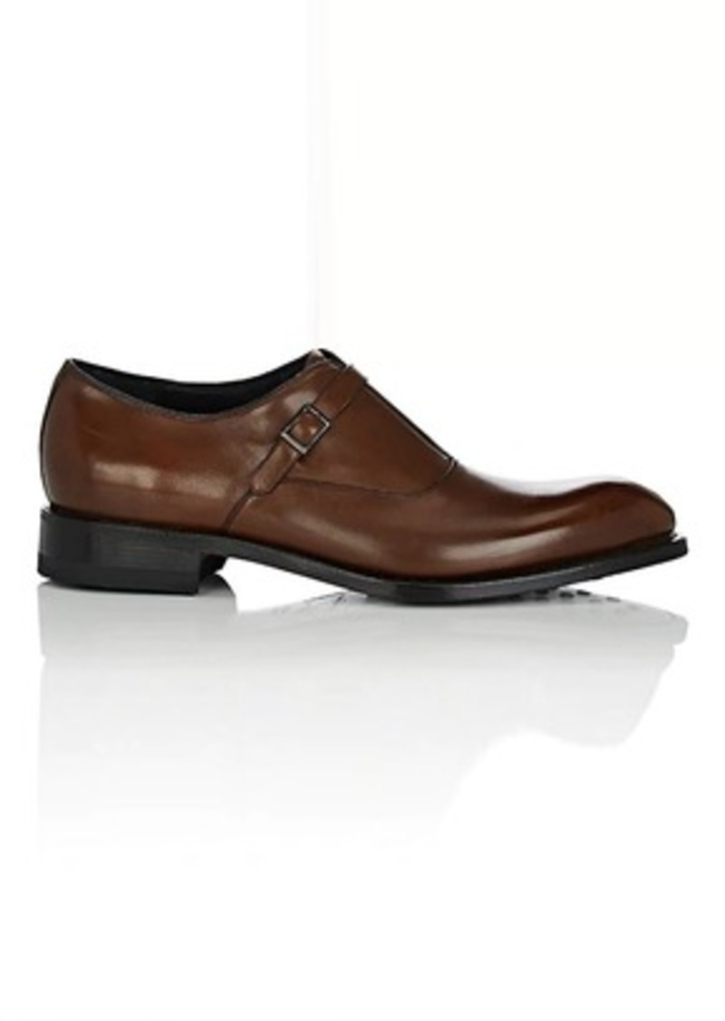 39f2e793e954 Ferragamo Salvatore Ferragamo Men s Cipriano Leather Monk-Strap ...