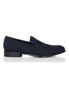 Salvatore Ferragamo Men's Class Jacquard Venetian Loafers