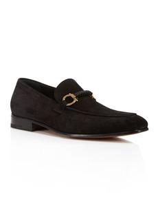 Salvatore Ferragamo Men's Cross Gancini Braided Loafers