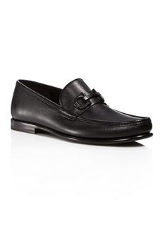 Salvatore Ferragamo Men's Crown Gancini Bit Loafers