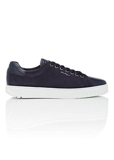 Salvatore Ferragamo Men's Cube Leather & Nubuck Sneakers