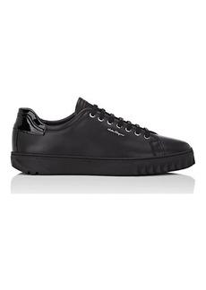 Salvatore Ferragamo Men's Cube Leather Sneakers