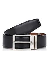Salvatore Ferragamo Men's Double-Gancini-Buckle Reversible Leather Belt