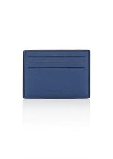 Salvatore Ferragamo Men's Flat Card Case - Blue