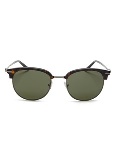 Salvatore Ferragamo Men's Gancio Square Sunglasses, 52mm