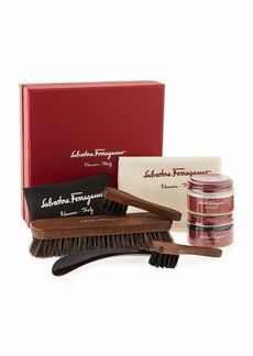 Ferragamo Men's Leather Shoe Cleaning Kit