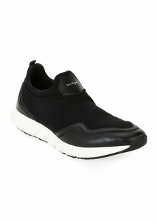 Salvatore Ferragamo Men's Neoprene & Leather Trainer Sneakers