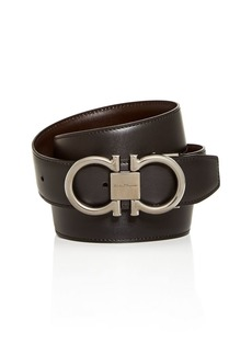 Salvatore Ferragamo Men's Paloma Reversible Leather Belt