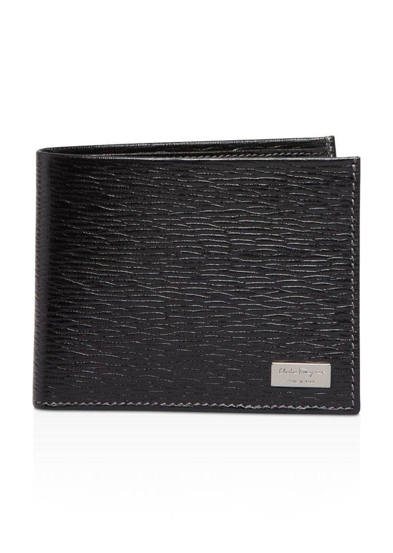 "Salvatore Ferragamo Men's ""Revival"" Bifold Wallet"