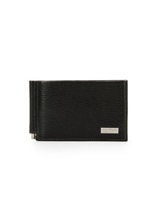 Ferragamo Men's Revival Bifold Wallet W/Money Clip